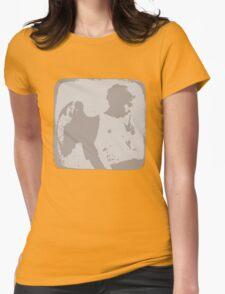 Messenger Womens Fitted T-Shirt