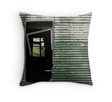 Doorway to a Forgettable Past Throw Pillow