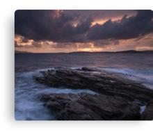Elgol Sunset Canvas Print