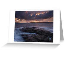 Elgol Sunset Greeting Card