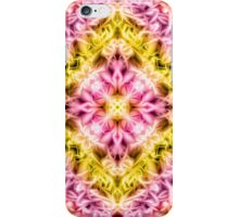 """Spirit of India: Fleur Diamond"" in purple, rose and yellow iPhone Case/Skin"