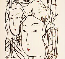 Japanese Bamboo Forest by Ming  Myaskovsky