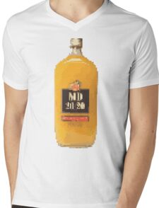 8BIT MD Mens V-Neck T-Shirt