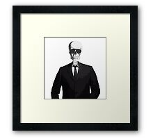 Skeleton Suit Framed Print