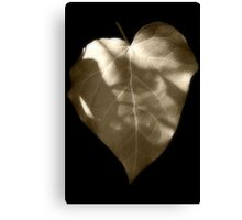 Ivy Heart Canvas Print