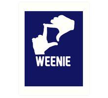 L7 Weenie Art Print