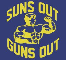 Suns Out Guns Out by jephrey88