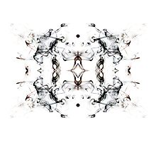 Smoke Abstract Photographic Print