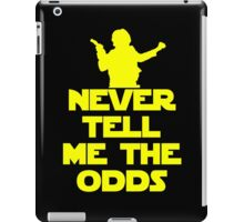 Never Tell Me The Odds iPad Case/Skin