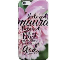 Maura iPhone Case/Skin