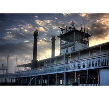 Riverboat 'Natchez' Photographic Print