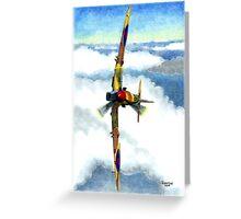 Desert Spitfire Greeting Card