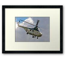 Westland Whirlwind HAR.10 XJ763 G-BKHA Framed Print