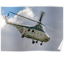 Westland Whirlwind HAR.10 XJ763 G-BKHA Poster