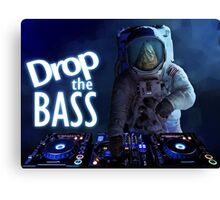 Drop the Bass Canvas Print