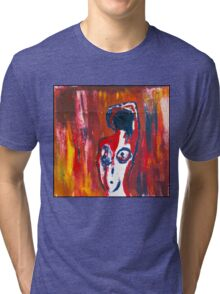 la belle oil stick version Tri-blend T-Shirt
