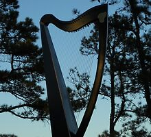 Dramatic Harp by Beth Stockdell