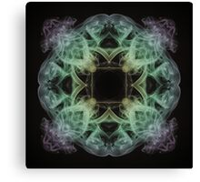 Smoke Square Canvas Print