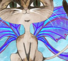 Oriental short hair fairy cat Sticker