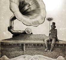 The Chimney Sweep (monochrome) by Eric Fan