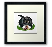 Please, share with me?, asks mouse politely. Framed Print