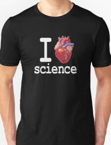 Funny - I Heart Science Unisex T-Shirt
