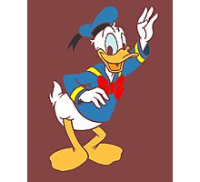 Donald Duck without borders Photographic Print