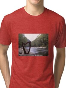Harp at the River Tri-blend T-Shirt
