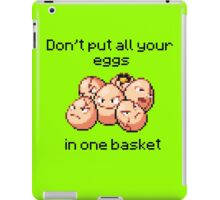Exeggcute #102 - Don't put all your eggs in one Basket! iPad Case/Skin