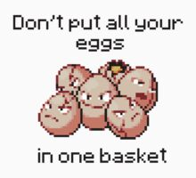 Exeggcute #102 - Don't put all your eggs in one Basket! Kids Tee