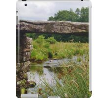 Clapper Bridge,  Postbridge  iPad Case/Skin