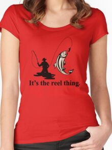 Fly Fishing Women's Fitted Scoop T-Shirt