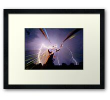 THOR ~ God of Thunder Framed Print