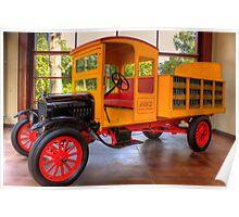 Model T Coca-Cola Delivery Truck Poster
