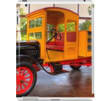 Model T Coca-Cola Delivery Truck iPad Case/Skin