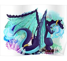 Charizard + Diancie Poster