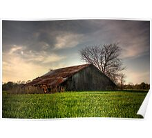 Country Barn Poster