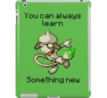 Smeargle #235 - You can always learn something new iPad Case/Skin