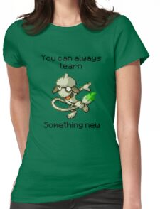 Smeargle #235 - You can always learn something new Womens Fitted T-Shirt