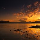 Sunset on the loch by makatoosh