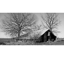 Old Barn-rework Photographic Print