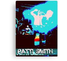 Patti Smith - Godmother of Punk Canvas Print