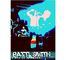 Patti Smith - Godmother of Punk Photographic Print