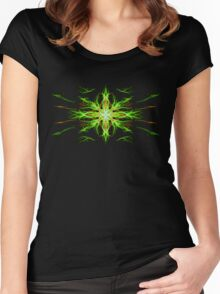 Energetic Geometry- Earth Element Women's Fitted Scoop T-Shirt