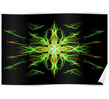 Energetic Geometry- Earth Element Poster