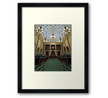 The House of Assembly Framed Print