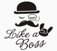 Like a Boss Kids Tee