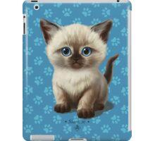 Cataclysm: Siamese Kitten Paws iPad Case/Skin