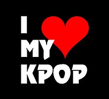 I LOVE MY KPOP - BLACK by Kpop Seoul Shop