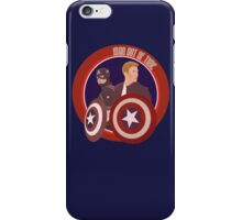 Man Out of Time: Captain America iPhone Case/Skin